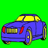 Elite fantastic car coloring game