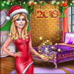 Ellie New Year Room Deco jeu