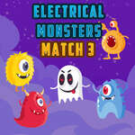 Electrical Monsters Match 3 game