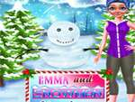 Emma And Snowman Christmas game