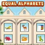 Равни азбуки игра