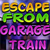 Escape From Garage Train game