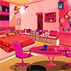 Rosa Mädchenzimmer entkommen Spiel