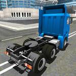 Euro Truck Rijden Sim 2018 3D spel