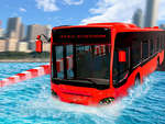 Extreme Water Floating Bus game
