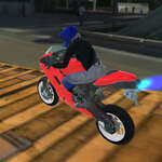 Extreme Bike Track game