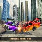 Extreme Car Battle Demolition Derby Car 2k20 game