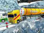 Extreme Winter Oil Tanker Truck Drive game
