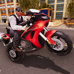 Extreme Bike Driving 3D game