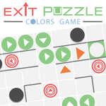 Quitter puzzle couleurs jeu jeu