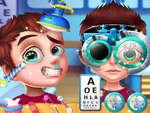 Dottore occhio gioco