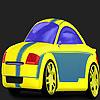 Snelle gelinieerde auto kleuren spel