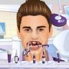Moda niño diente problemas juego