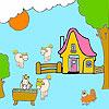 Ферма и коне оцветяване игра
