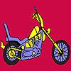 Colorear moto rápido más difícil juego