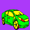 Fast famous car coloring game