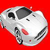 Fastest silver car coloring game