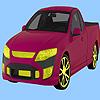 Camioneta rapid de colorat joc