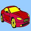 Галерия на страхотна кола оцветяване игра