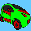 Fascinating concept car coloring game