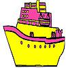 Hızlı ve büyük gemi boyama oyunu