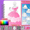 Fashion Studio - Princess Dress Design game