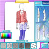 Модно студио - зимни дрешки игра