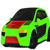 Fast powerful car coloring game