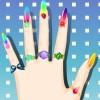 Diseño de uñas de moda juego