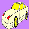 Fast star car coloring game