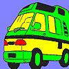Fabulosa caravana para colorear juego