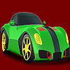 Faster and colorful car coloring game