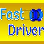 Snelle bestuurder spel