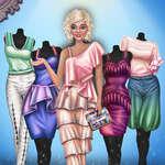 Mesés Fashionista öltöztetős játék