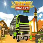 Farm Animal Truck Transporter Spiel