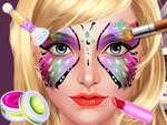 Салон за боядисване на лицето игра