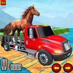 Farm Animal Transport Truck Spiel