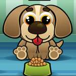 Feed My Pet Dog Nummern Spiel
