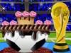 FIFA torta díszítés játék