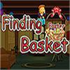 Encontrar la canasta de Pascua juego
