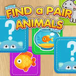 Keressen egy pár állatok játék