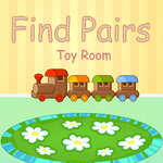 Find Pairs Toy Room game