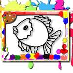 Fish Coloring Book game