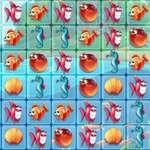игра Рыбный мир Матч3