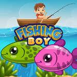 Băiat de pescuit joc