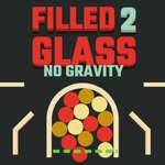 Запълнено стъкло 2 Без гравитация игра