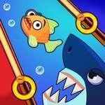 Clavija de rescate de peces juego