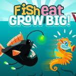 Fische essen werden groß Spiel