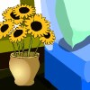 flower home escape game