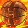 Flammenden Ball Spiel